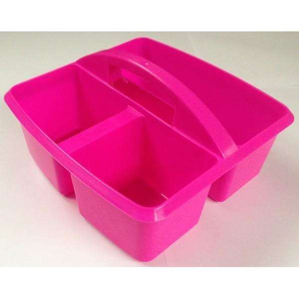 Hot Pink Classroom Table Storage Caddy:Primary Classroom Resources