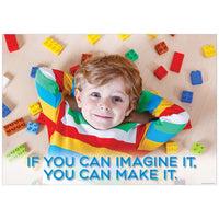 If you can imagine it... Inspire U Poster:Primary Classroom Resources