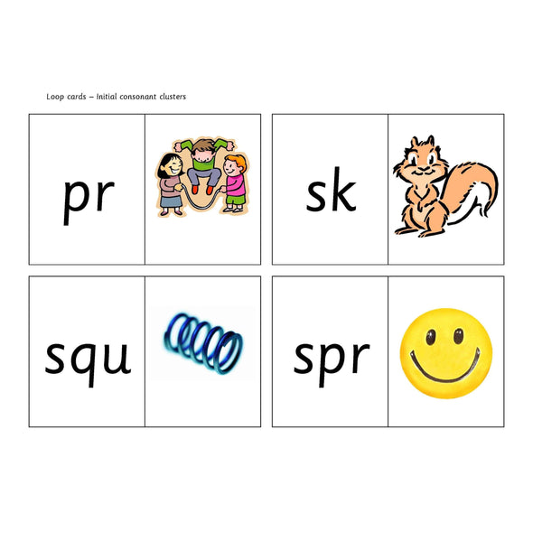 Initial Clusters Loop Cards:Primary Classroom Resources