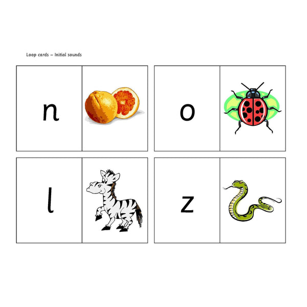 Initial Sounds Loop Cards:Primary Classroom Resources