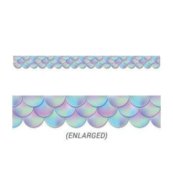 Iridescent Scallops Display Border