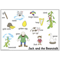Jack and the Beanstalk Vocabulary Mat:Primary Classroom Resources