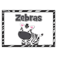 Jungle Animals Table/Group Signs