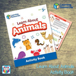Learn About Animals Activity Book:Primary Classroom Resources