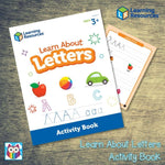 Learn About Letters Activity Book:Primary Classroom Resources