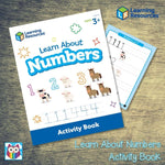 Learn About Numbers Activity Book:Primary Classroom Resources