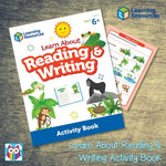 Learn About Reading & Writing Activity Book:Primary Classroom Resources