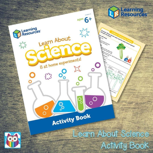 Learn About Science Activity Book:Primary Classroom Resources