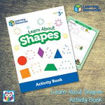Learn About Shapes Activity Book:Primary Classroom Resources