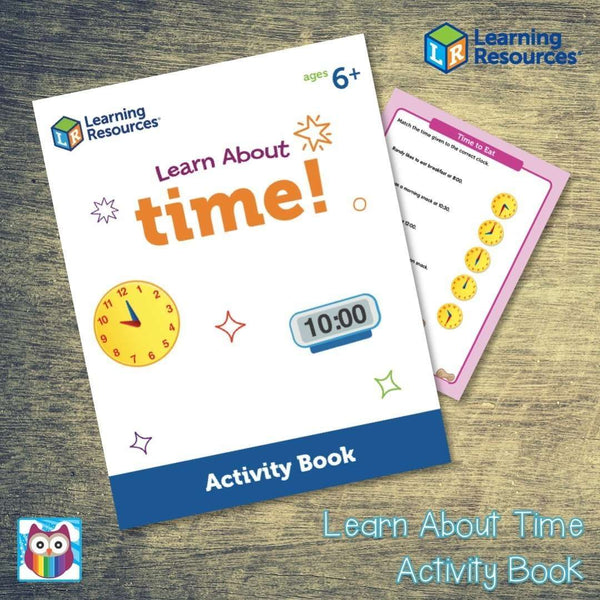 Learn About Time Activity Book:Primary Classroom Resources