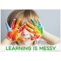 Learning Is Messy - Inspire U Poster