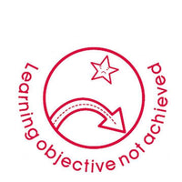 Learning Objective Not Achieved - Self Inking Teacher Stamper:Primary Classroom Resources