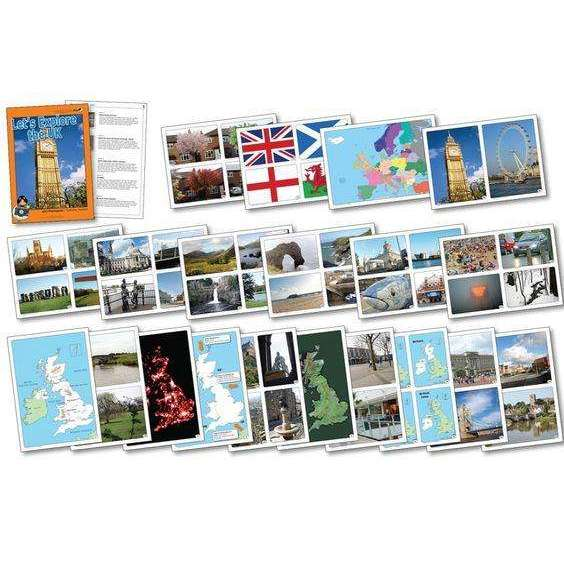 Let's Explore The United Kingdom Photo pack:Primary Classroom Resources