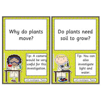 Let's Investigate - Plants - Science Investigations:Primary Classroom Resources