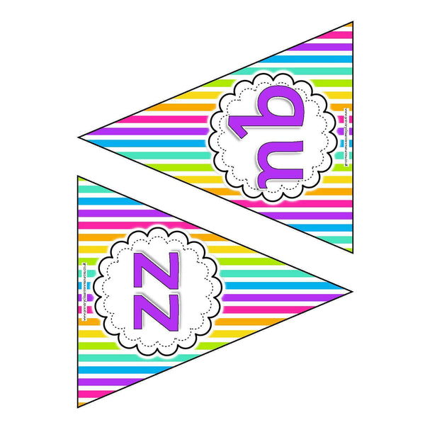Letters and Sounds Phase 3 Bunting - Rainbow:Primary Classroom Resources