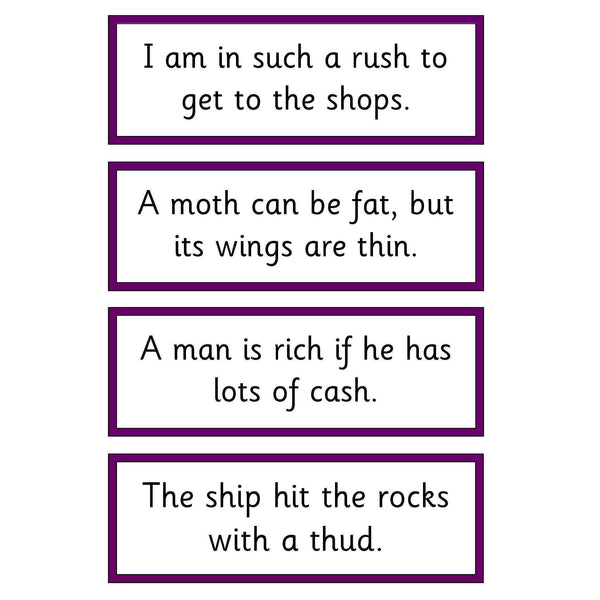 Letters and Sounds Phase 3 Captions Pack:Primary Classroom Resources