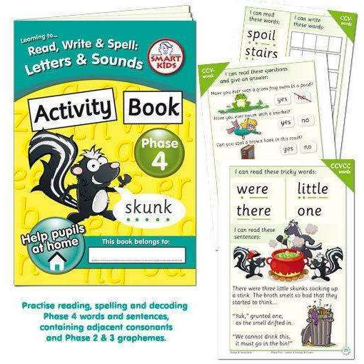 Letters and Sounds Phase 4 Activity Book:Primary Classroom Resources
