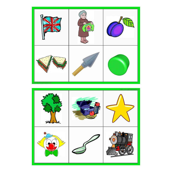 Letters and Sounds Phase 4 Matching Game:Primary Classroom Resources