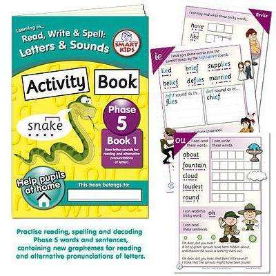 Letters and Sounds Phase 5 Activity Book 1:Primary Classroom Resources