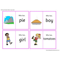 Letters and Sounds Phase 5 Loop Cards:Primary Classroom Resources