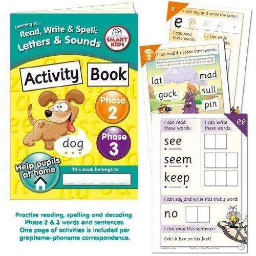 Letters and Sounds Phases 2 & 3 Activity Book:Primary Classroom Resources