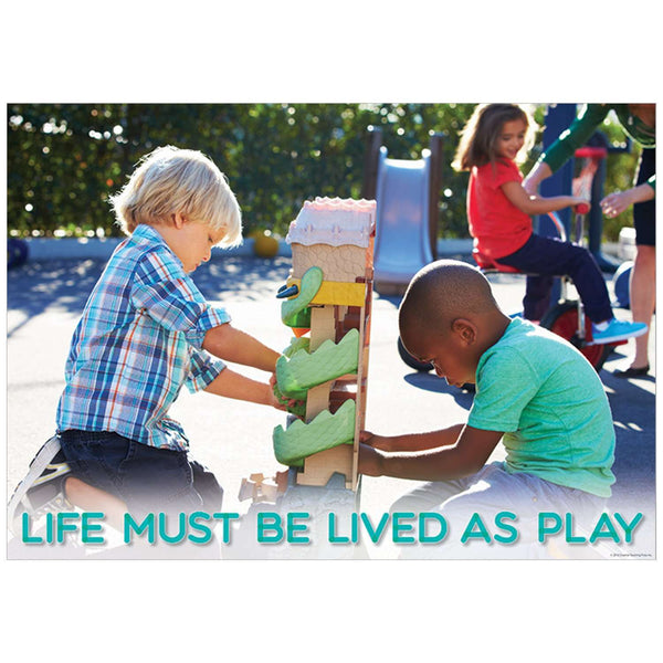 Life must be lived... Inspire U Poster:Primary Classroom Resources