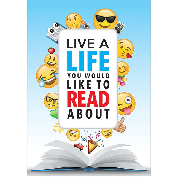Live a life you would like to read about - Inspire U Poster:Primary Classroom Resources