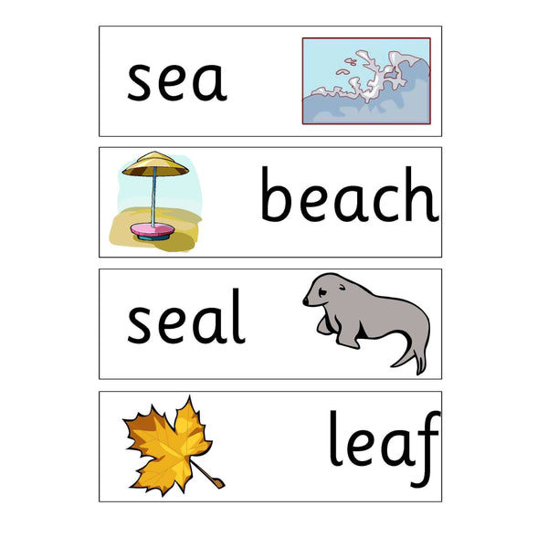 Long Vowel E Display Pack:Primary Classroom Resources