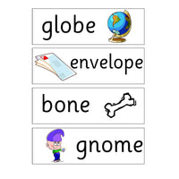 Long Vowel O Display Pack:Primary Classroom Resources
