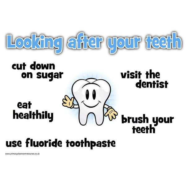 Looking After Your Teeth Posters:Primary Classroom Resources