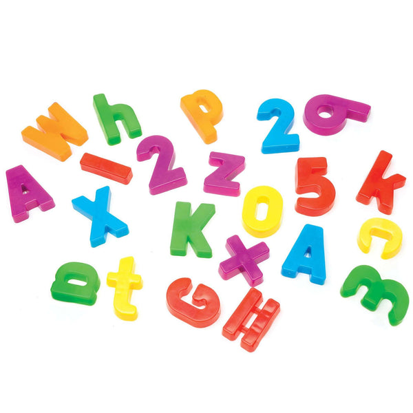 Magnetic Alphabet and Numbers:Primary Classroom Resources
