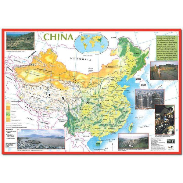 Map of China:Primary Classroom Resources
