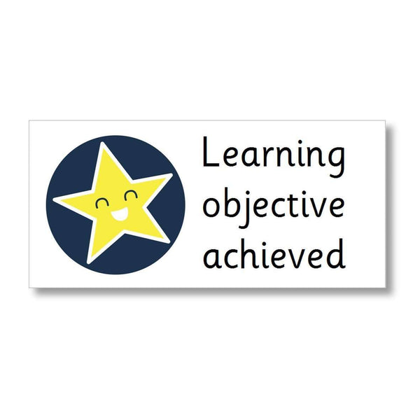 Marking Stickers - Learning objective achieved:Primary Classroom Resources