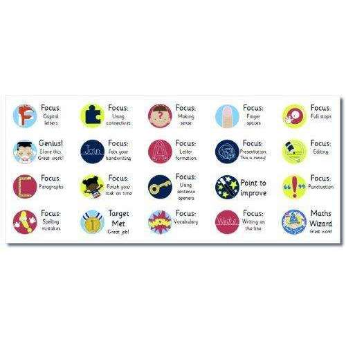 Marking Stickers Mega Pack 1 - 20 sheets (1300 stickers!):Primary Classroom Resources