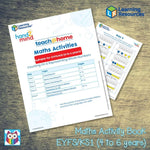 Maths Activity Book - EYFS/KS1 (4 to 6 years):Primary Classroom Resources