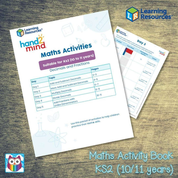 Maths Activity Book - Suitable for KS2 (10/11 years):Primary Classroom Resources