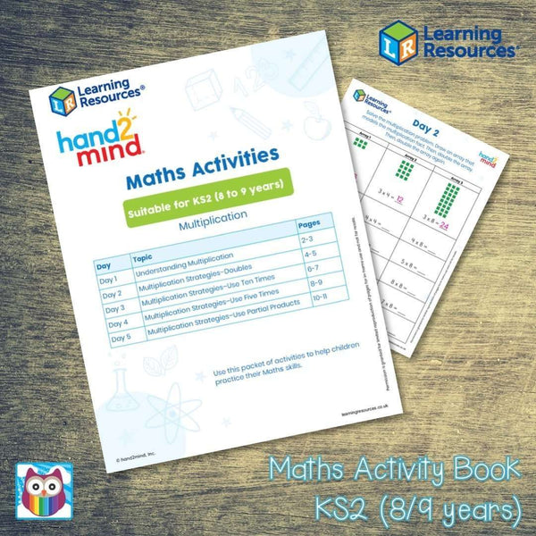 Maths Activity Book - Suitable for KS2 (8/9 years):Primary Classroom Resources