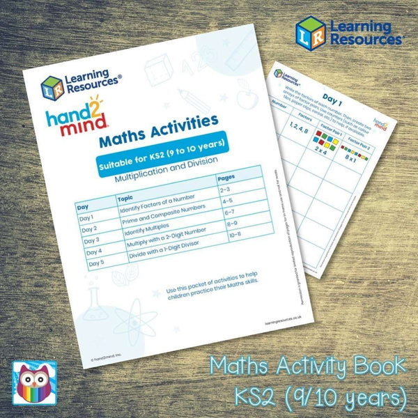 Maths Activity Book - Suitable for KS2 (9/10 years):Primary Classroom Resources
