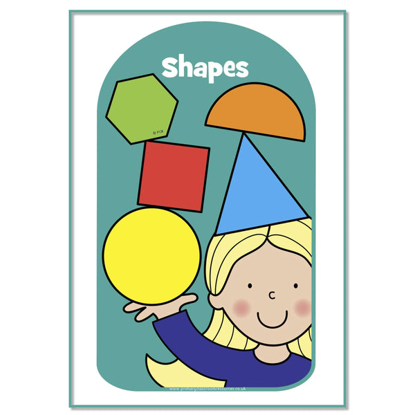 Maths Headers:Primary Classroom Resources