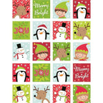 Merry and Bright Classroom Reward Stickers:Primary Classroom Resources