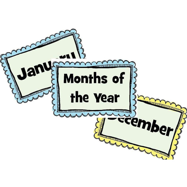 Months of the Year Frames Posters:Primary Classroom Resources