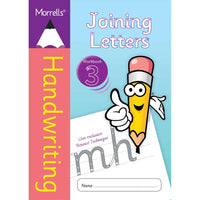 Morrells Handwriting - Joining Letters - Workbook 3