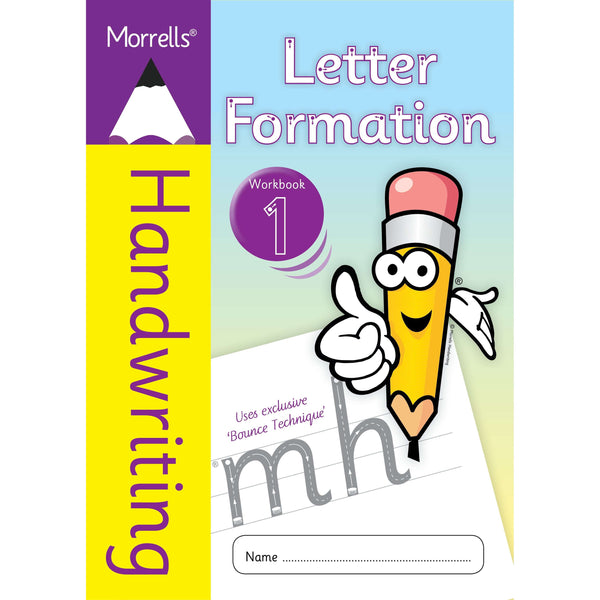 Morrells Handwriting - Letter Formation - Workbook 1