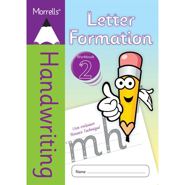 Morrells Handwriting - Letter Formation - Workbook 2