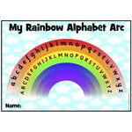 My Rainbow Alphabet Arc -  Upper and Lower Case