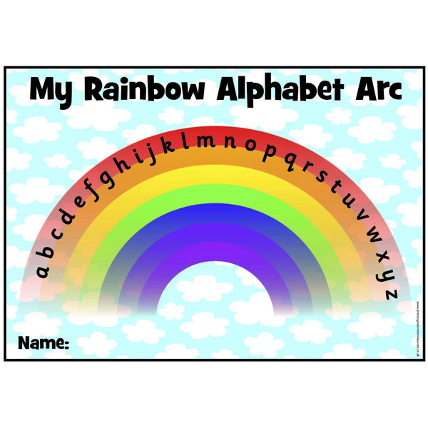 My Rainbow Alphabet Arc:Primary Classroom Resources