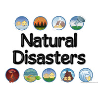 Natural Disasters Display Pack
