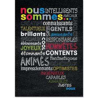 Nous sommes… French Inspire U Poster