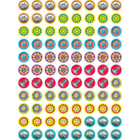 Nuts & Bolts Hot Spots Chart Seal Stickers:Primary Classroom Resources