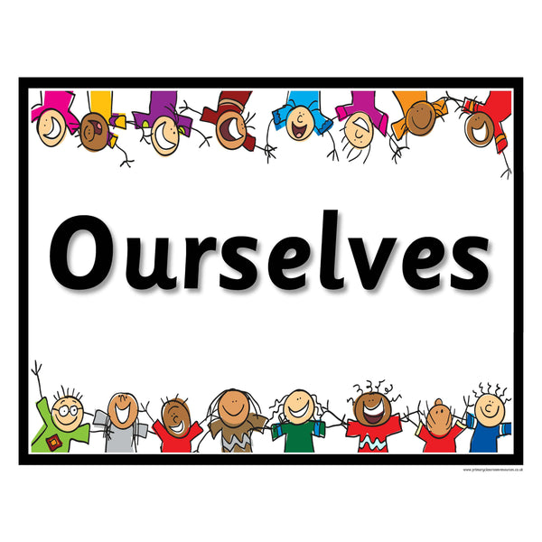 Ourselves Display Resources Pack:Primary Classroom Resources